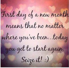 month  beginning  mindset  focus  start  intentions  results