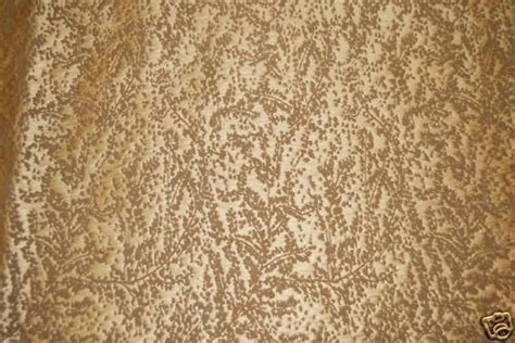 Upholstery Silk by Clarence House Silk Fabric Bronze Gold Heavy Weight