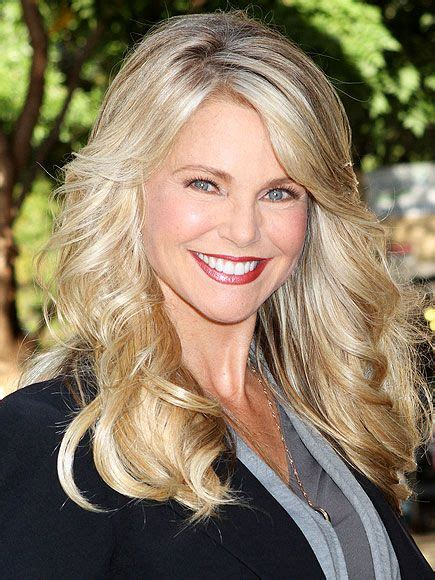 old hair at 59 100 best muse christie brinkley images on pinterest