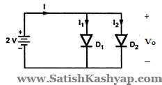 cut in voltage of silicon diode satish kashyap tutorial 3 questions on pn junction resistances and capacitances edc