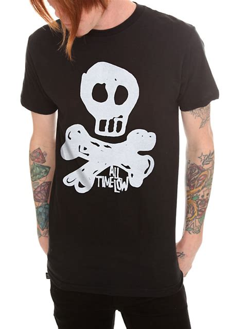 All Time Low Shirt all time low skull t shirt topic
