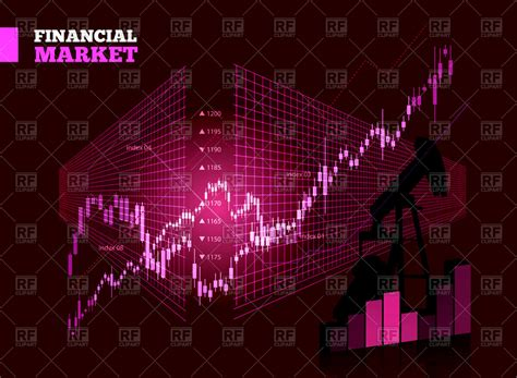 chart wallpaper stock market chart background vector image 73210 rfclipart