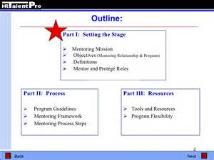 Mentor Program Template by To Successful Mentoring Programs