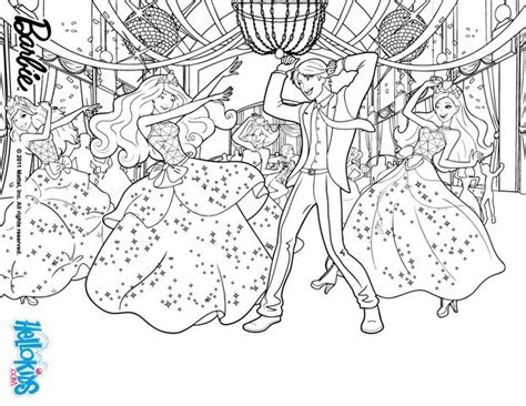 Prom Party Coloring Pages Hellokids Com Coloring Pages Princess Charm School Printable