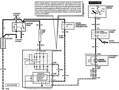 wiring diagram for alternator with regulator