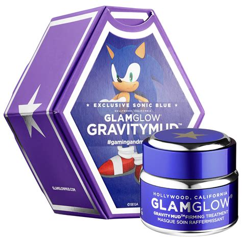 Glamglow Gravity Mud glamglow gravitymud firming treatment sonic blue news