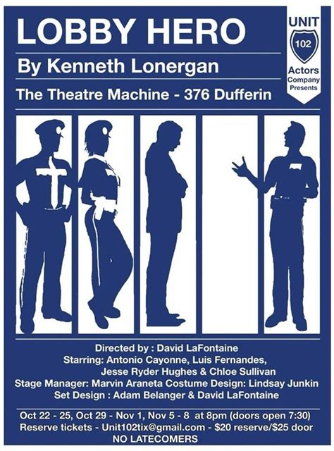 theatre notes 01 05 10 01 06 10 index of theatre news entries 2014 10 10 toronto unit 102 actors company presents kenneth