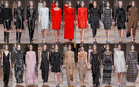 Valentino Ethnic Ori Leather Black frills and thrills fashion week fall 2012 part two