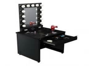 Black Makeup Vanity With Lights Decorating Make Up Vanity Mirror Your Home