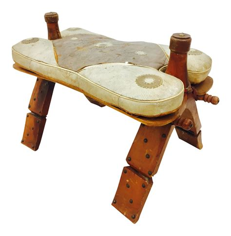 camel saddle ottoman vintage indian camel saddle ottoman chairish