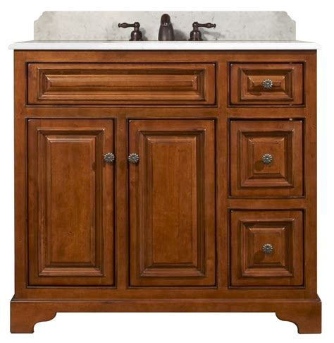 Medium Maple Cabinets by Wood Cb3621d Medium Maple Cambrian 36 Quot Maple Wood