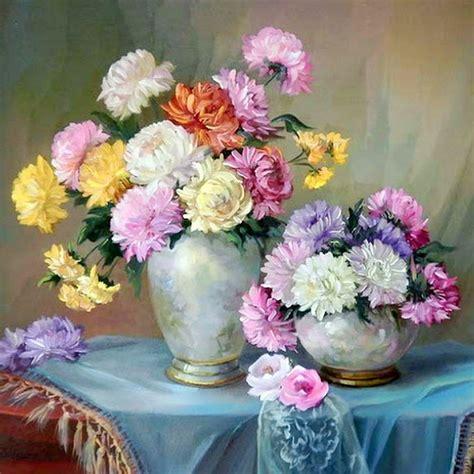 cuadro con flores cuadros modernos pinturas y dibujos cuadros de jarrones