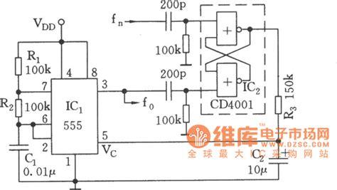 clock generator circuit diagram synchronized clock oscillator circuit diagram noise