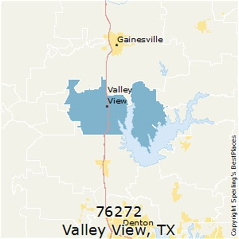 valley view texas map best places to live in valley view zip 76272 texas