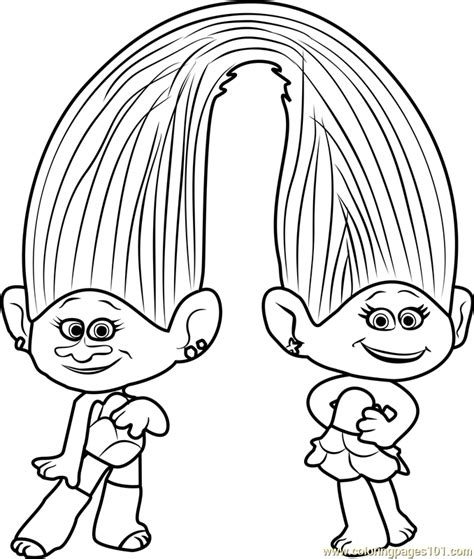 coloring page princess poppy bilderesultat for coloring trolls car activity