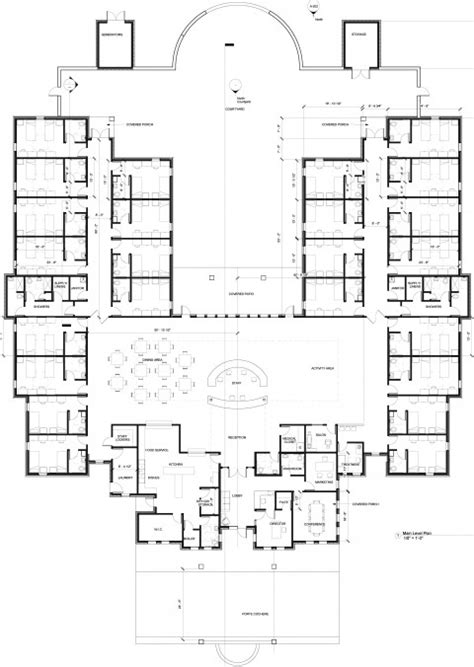 memory layout engineer memory care center design 48 bed evstudio architect