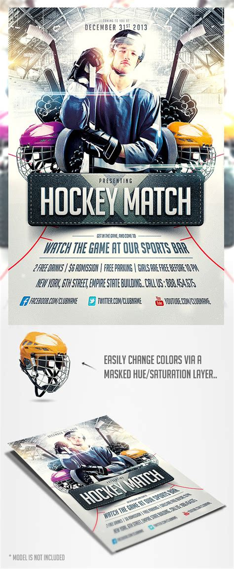 hockey flyer template hockey match flyer template by saltshaker911 on deviantart
