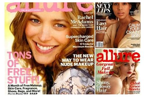 allure magazine coupons