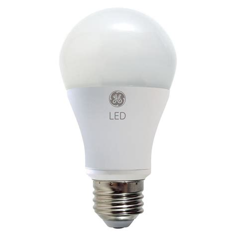 Led Light Bulbs Daylight Ge 100w Equivalent Daylight 5000k High Definition A21 Dimmable Led Light Bulb 2 Pack