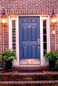 red brick house door colors door i love this color