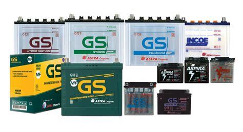 Accu Mobil Massiv toko accu mobil motor gs yuasa gs astra battery