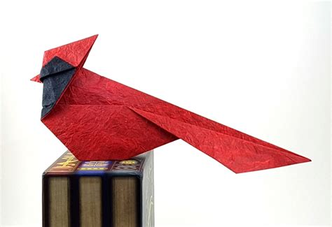 Origami Cardinal - tanteidan 10th convention book review gilad s origami page