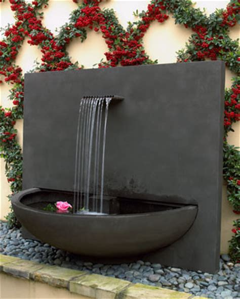 quot brisbane quot courtyard fountain contemporary outdoor fountains and ponds by neiman marcus