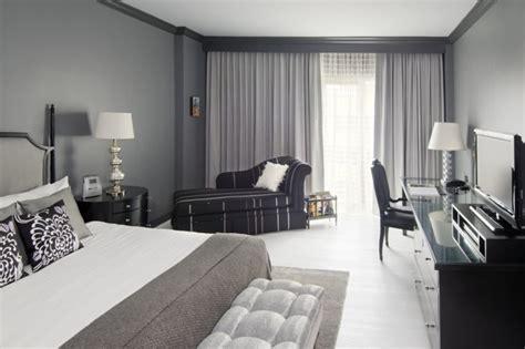 La chambre grise   40 idées pour la déco   Archzine.fr