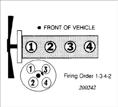 firing order        sohc engine        check