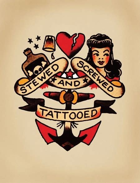 sailor jerry pin up tattoos sailor jerry