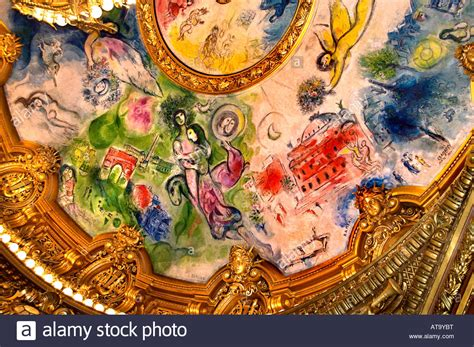 marc chagall opera the palais garnier