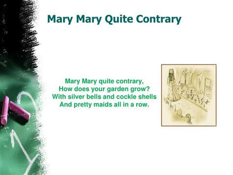 pretty marys all in a row books ppt nursery rhymes powerpoint presentation id 2177456