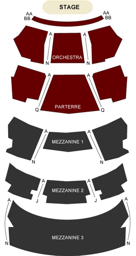 dolby theater seating chart dolby theatre los angeles ca seating chart and stage