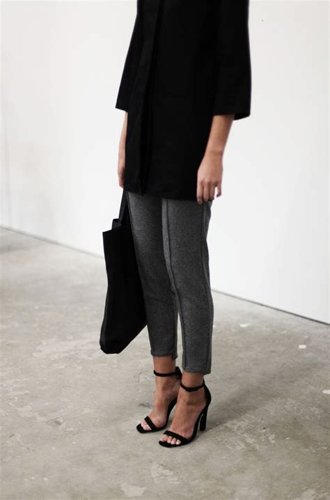 minimalist style inspiration images minimal chic grey and trousers