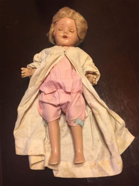 porcelain doll 1930 antique 1930s shirley temple porcelain doll