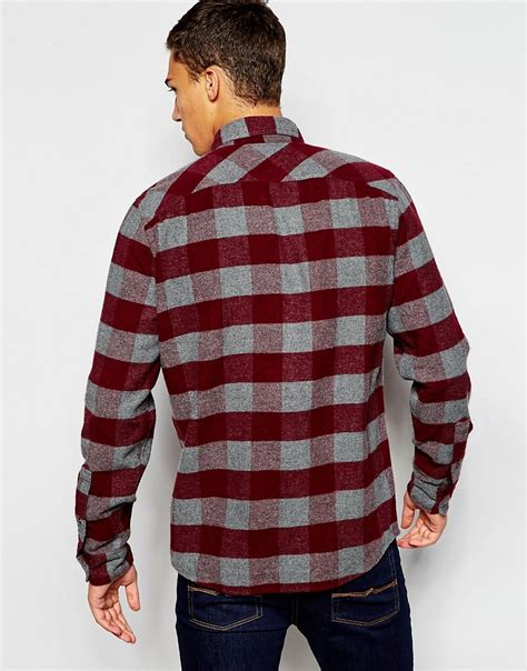Hollister Checked Shirt hollister hollister checked flannel shirt at asos