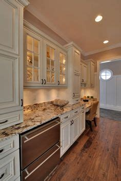 Marlin Kitchens by Crema Bordeaux Granite Installed Design Photos And Reviews
