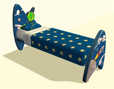 space bed mod the sims matching space bedding for children s space