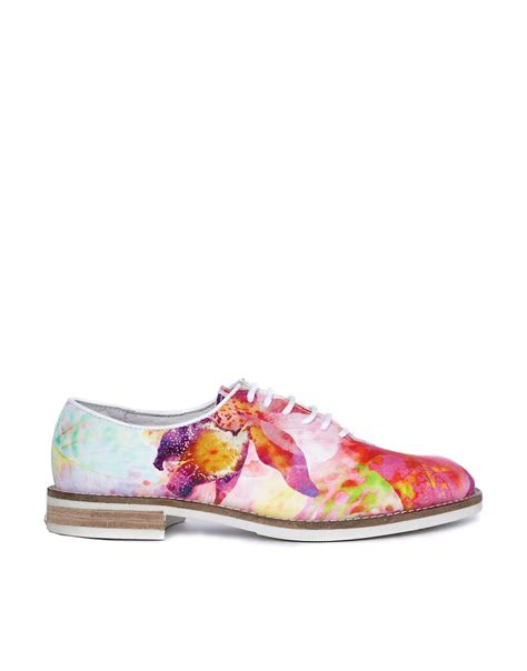 Strawberry Print Canvas Flats At Asos by Floral Flat Shoes 28 Images Ted Baker Rikyu Floral
