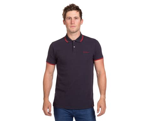 Ben Sherman Mens Romford Polo Staples Navy 100 Original ben sherman romford polo navy great daily deals at australia s favourite superstore