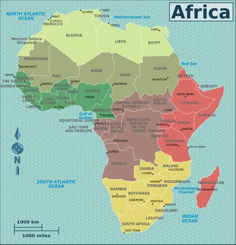 map of africa with countries labeled r 243 żne عماره الأرض عبر المكان quot تصنيف جغرافي quot عمــــــــــاره