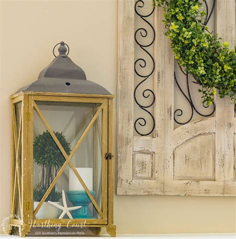 decorating with lanterns worthing court
