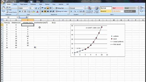velocity template exle how to calculate velocity acceleration and kinetic energy