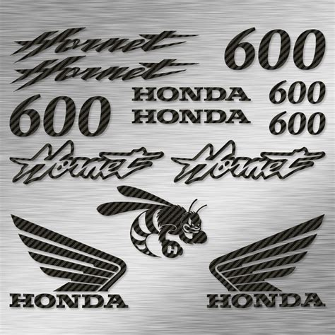 Sticker Honda Hornet 600 by Kit Autocollants Honda Hornet 600 Stickers Moto