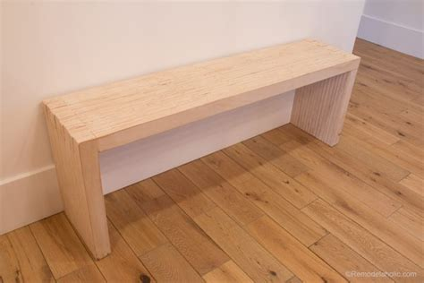 plywood bench remodelaholic grab a seat 25 amazing diy plywood