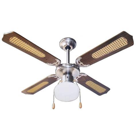 ventilatori a soffitto ventilatore a soffitto parete con lada 4 pale 107 cm