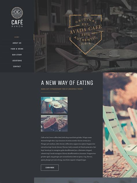 avada theme visual composer 2017 best coffee shop wordpress themes wp theme designer