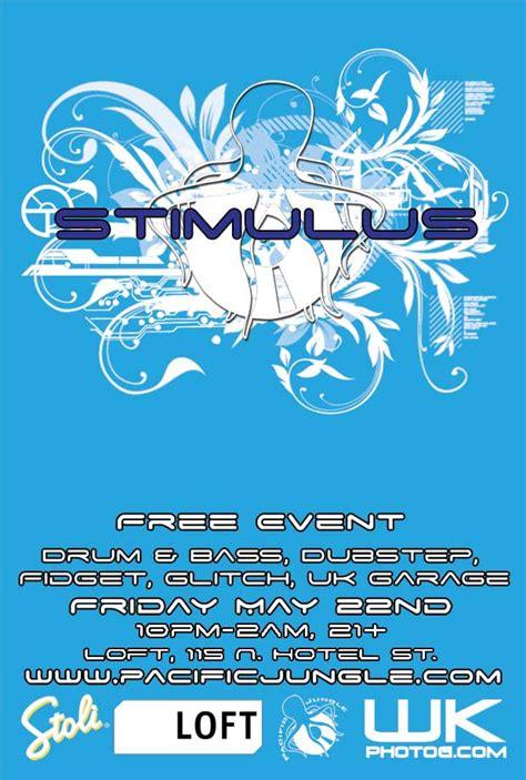 house music i heard you say stimulus by pacific jungle at the loft friday may 22nd 2009 pacificjungle com