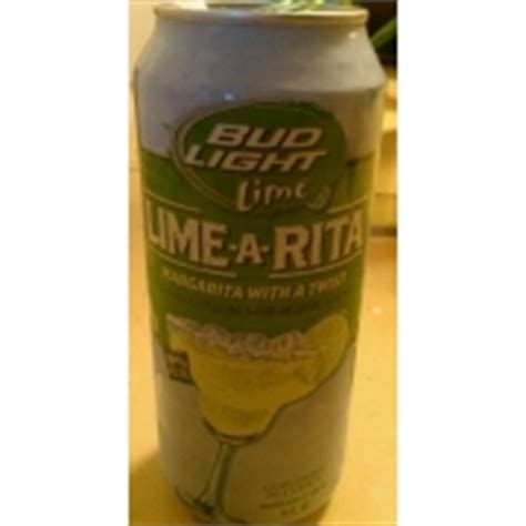 Bud Light Lime Calories by Bud Light Lime A Margarita With A Twist Calories Nutrition Analysis More Fooducate