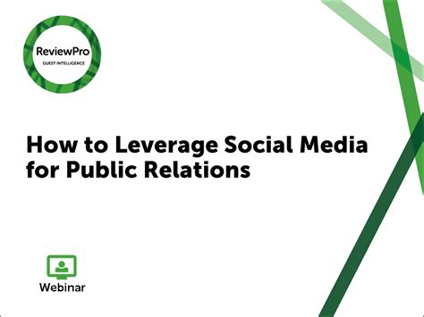how to leverage customer reviews webinar how to leverage social media for relations